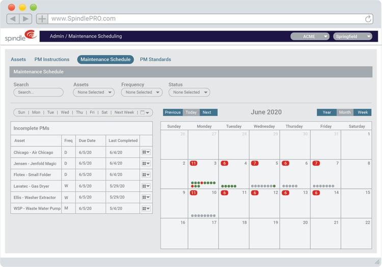 Preventive Maintenance Scheduling Software