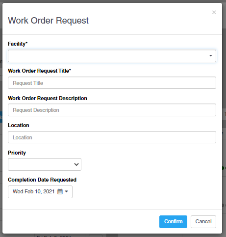 Work Order Requests
